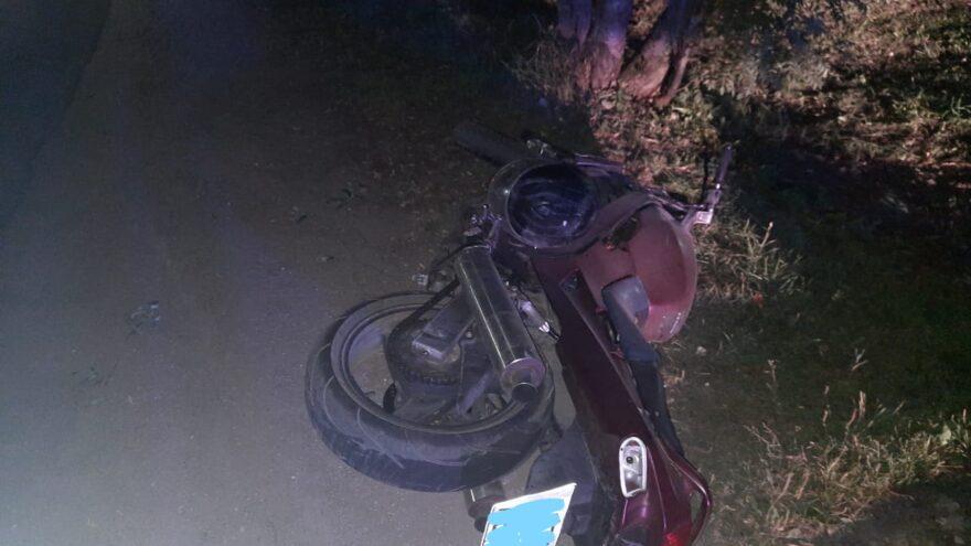В аварии в Тверской области серьёзно пострадал мотоциклист