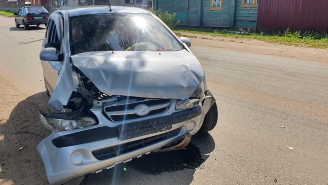 В Тверской области из-за солнца произошла авария