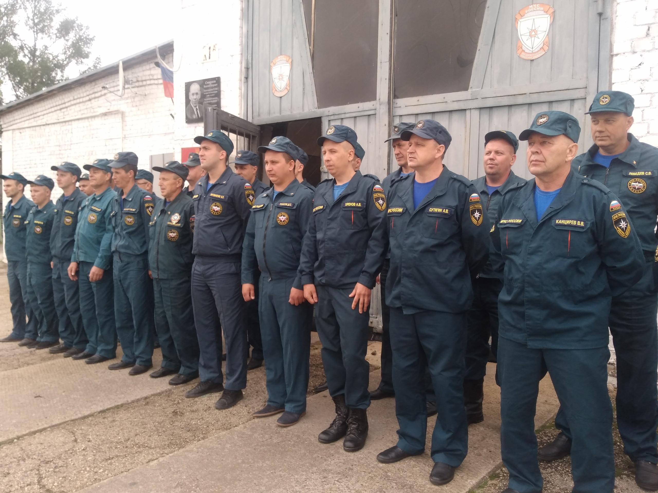 Одна из лучших пожарных частей Лихославльского района отметила 110 лет
