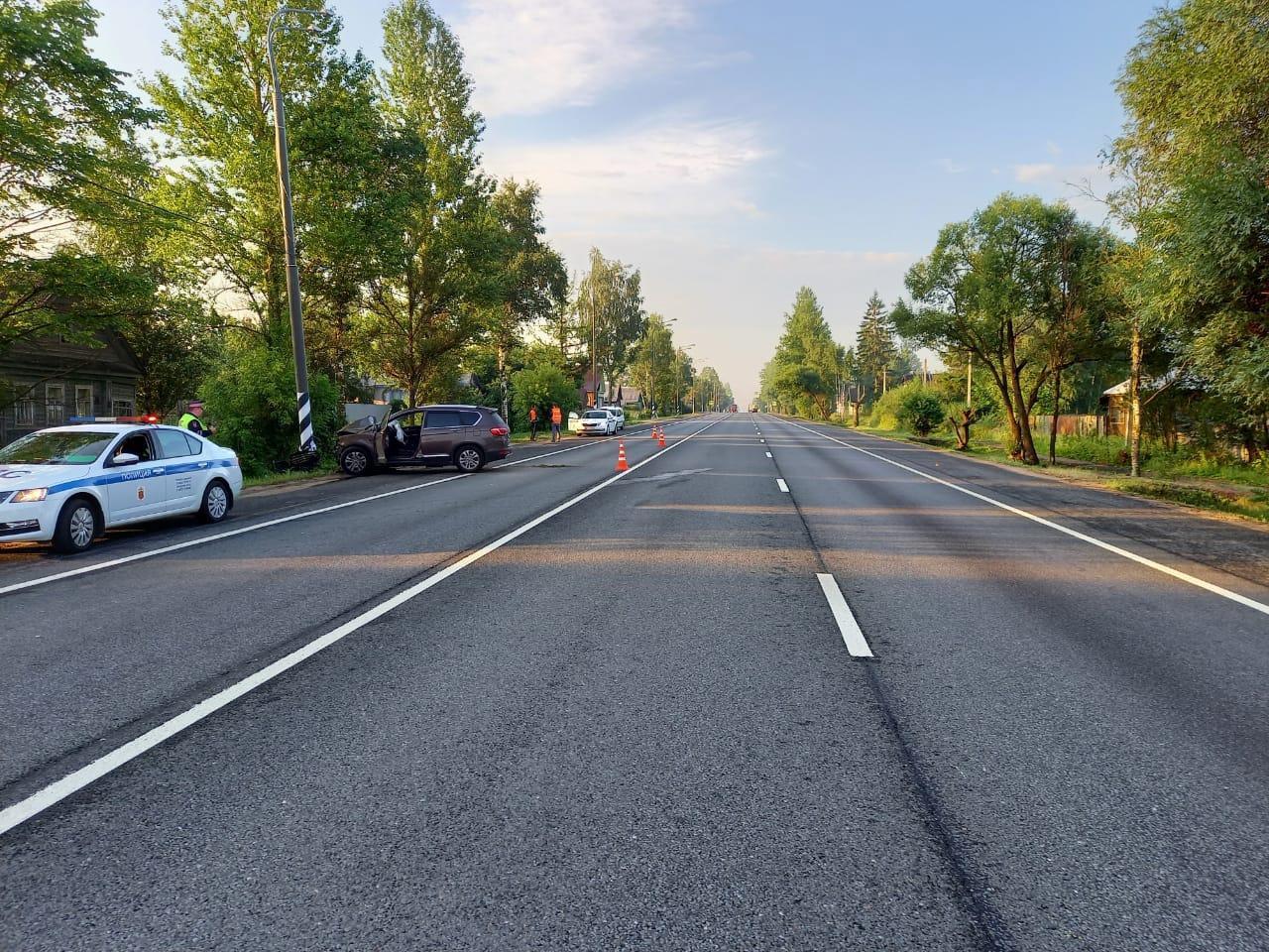 В Тверской области женщина погибла в ДТП с уснувшим водителем