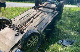 Тройное ДТП произошло на дороге под Тверью, есть пострадавший