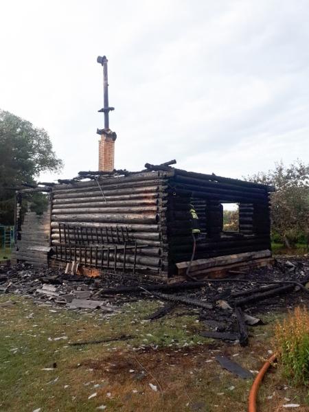 79-летний мужчина погиб при пожаре в Тверской области