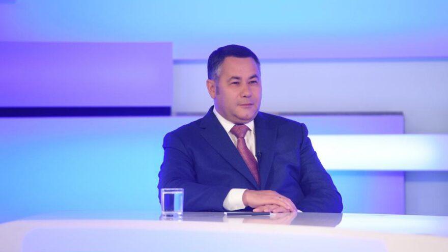 Игорь Руденя рассказал, когда завершится модернизация водовода в Твери