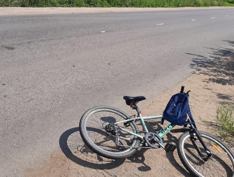 На дороге в Тверской области «Рено Логан» сбил мальчика на велосипеде