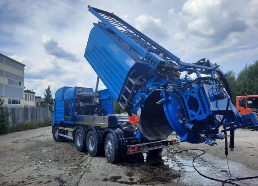 В Тверской области создали уникальную машину для прочистки труб