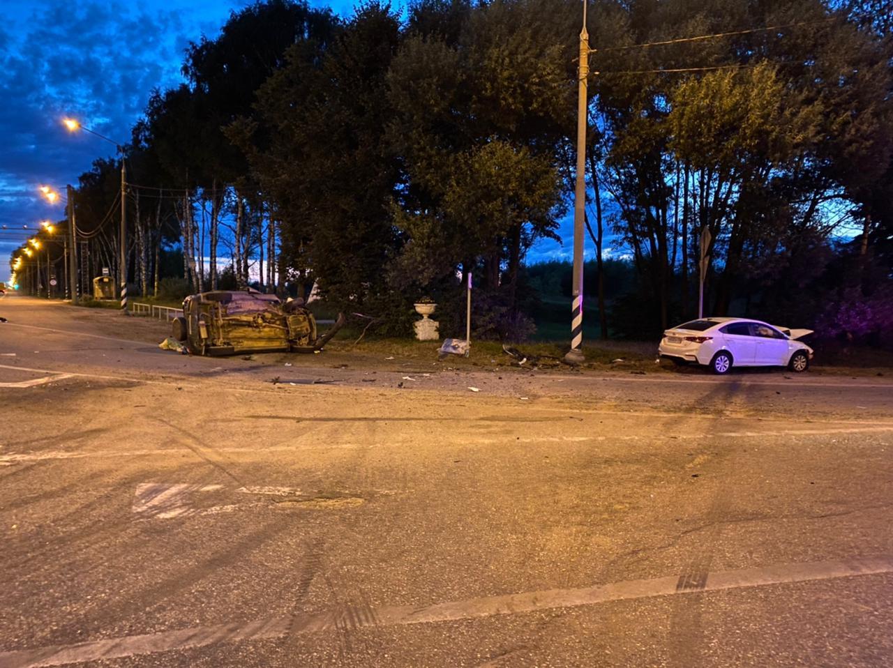 В Тверской области столкнулись «Хонда» и «Шевроле», трое пострадали