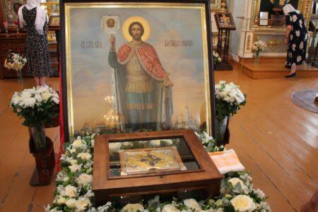 В Вышний Волочек прибыл ковчег с мощами святого благоверного князя Александра Невского