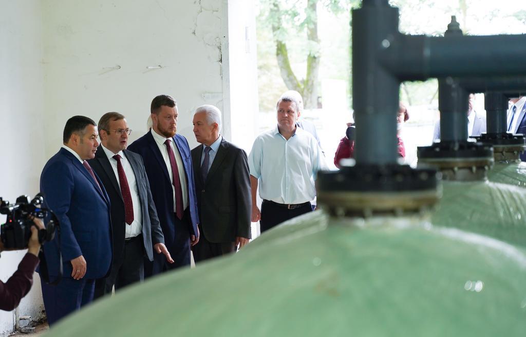 На Ржевском водозаборе в Тверской области установили новые современные фильтры