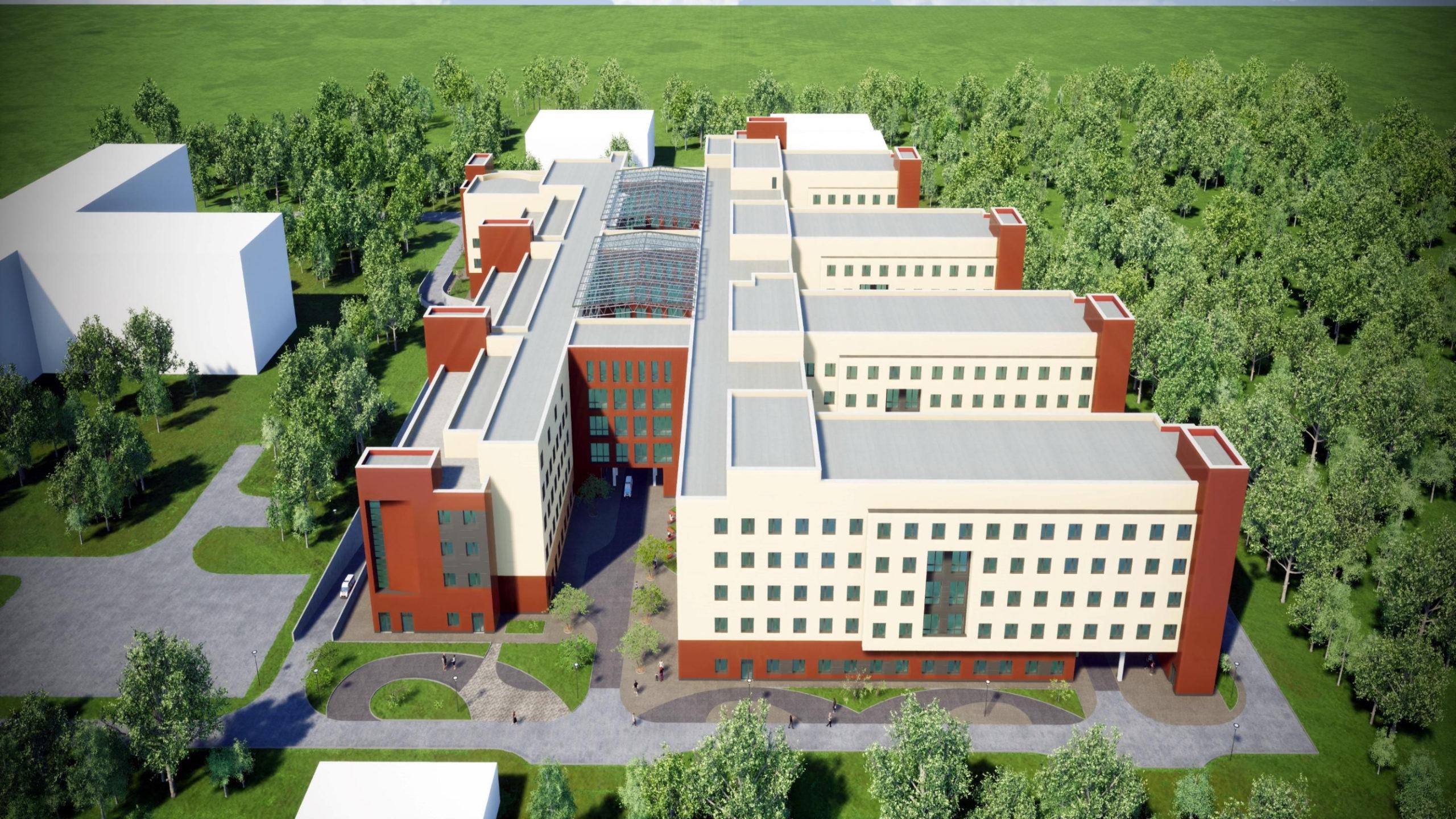 В Твери ускорят темпы строительства областной детской больницы