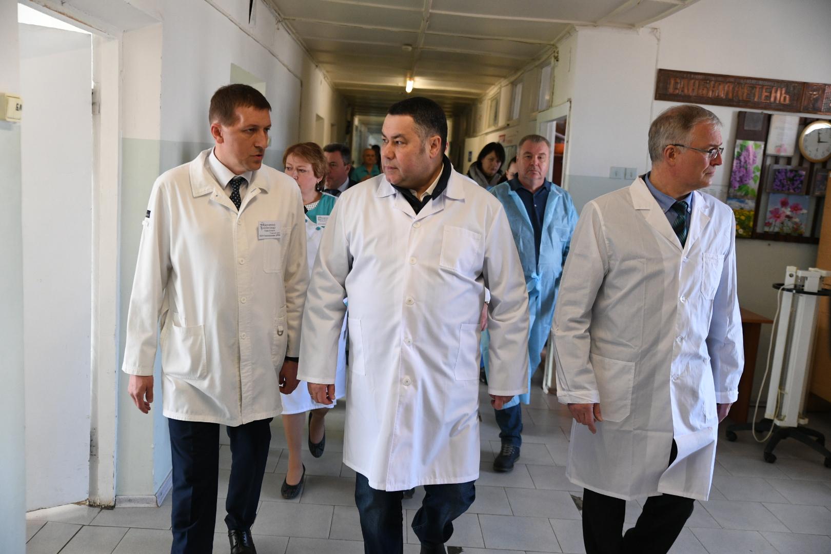 Игорь Руденя рассказал о темпах вакцинации в Тверской области