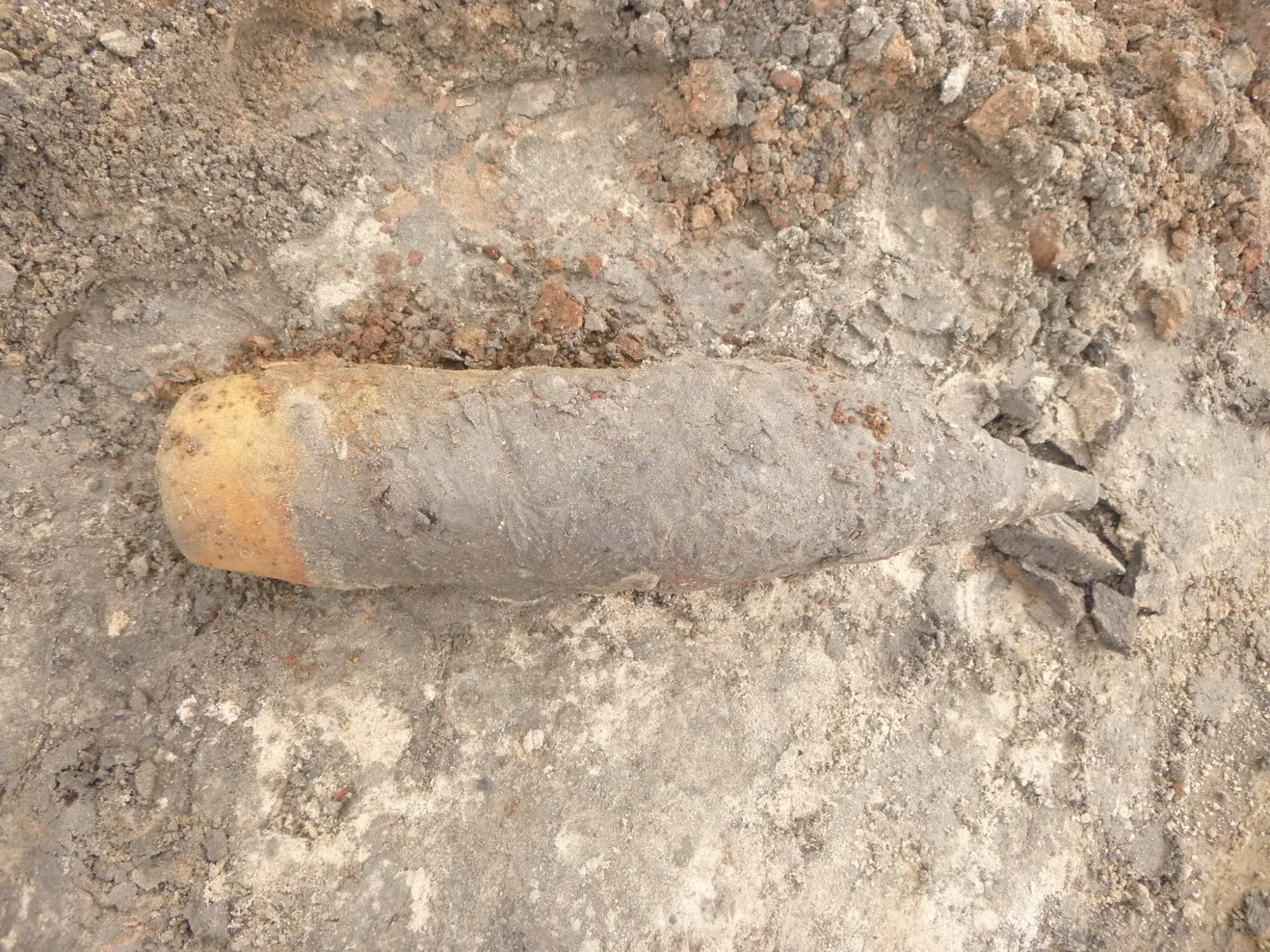 Артиллерийский снаряд и миномётную мину обезвредили в Твери
