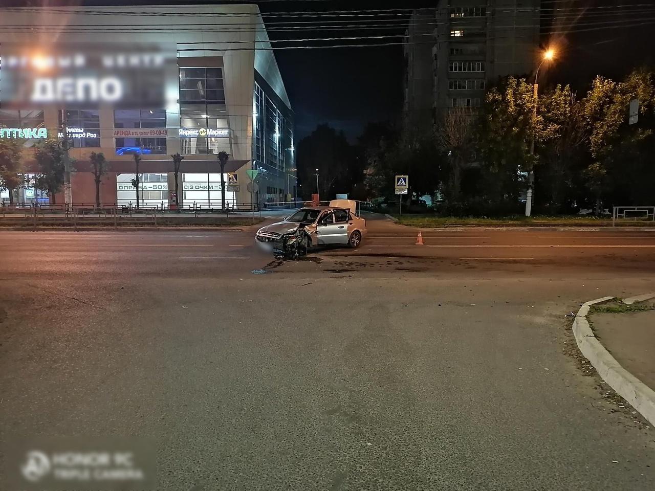 В аварии в Твери пострадал невиновный мотоциклист