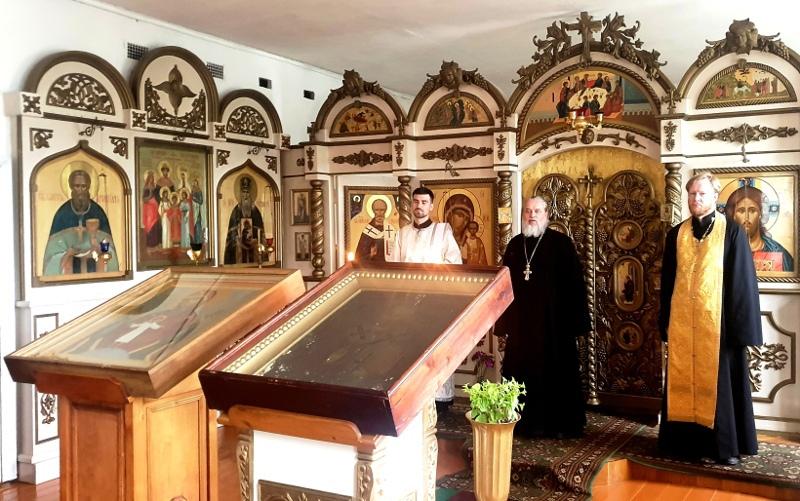Святыни Большого Бежецкого Крестного хода прибыли в Лихославльский район