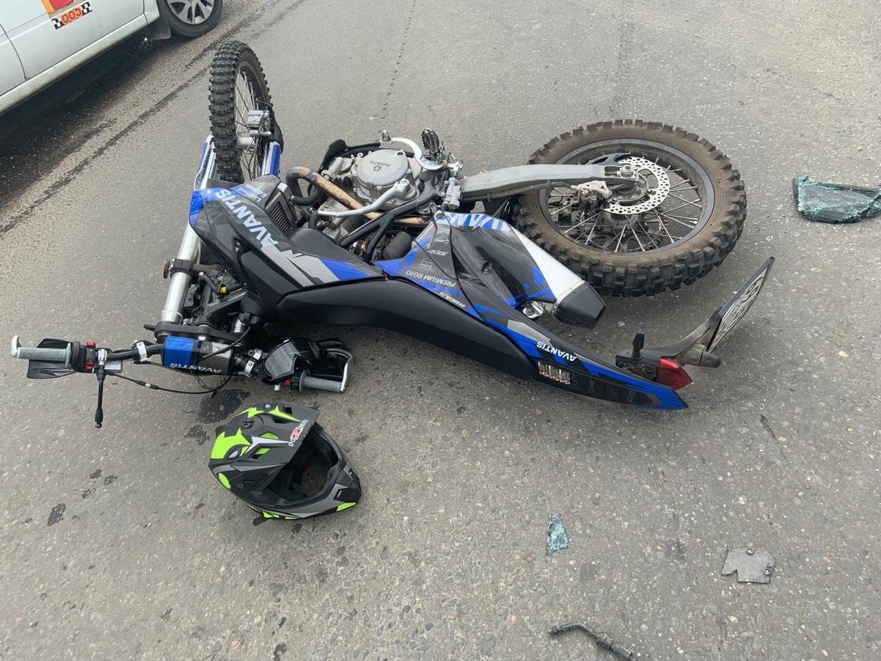 В ДТП в Тверской области пострадал невиновный мотоциклист