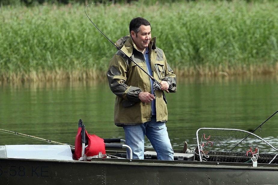 Игорь Руденя рассказал о своей любви к рыбалке