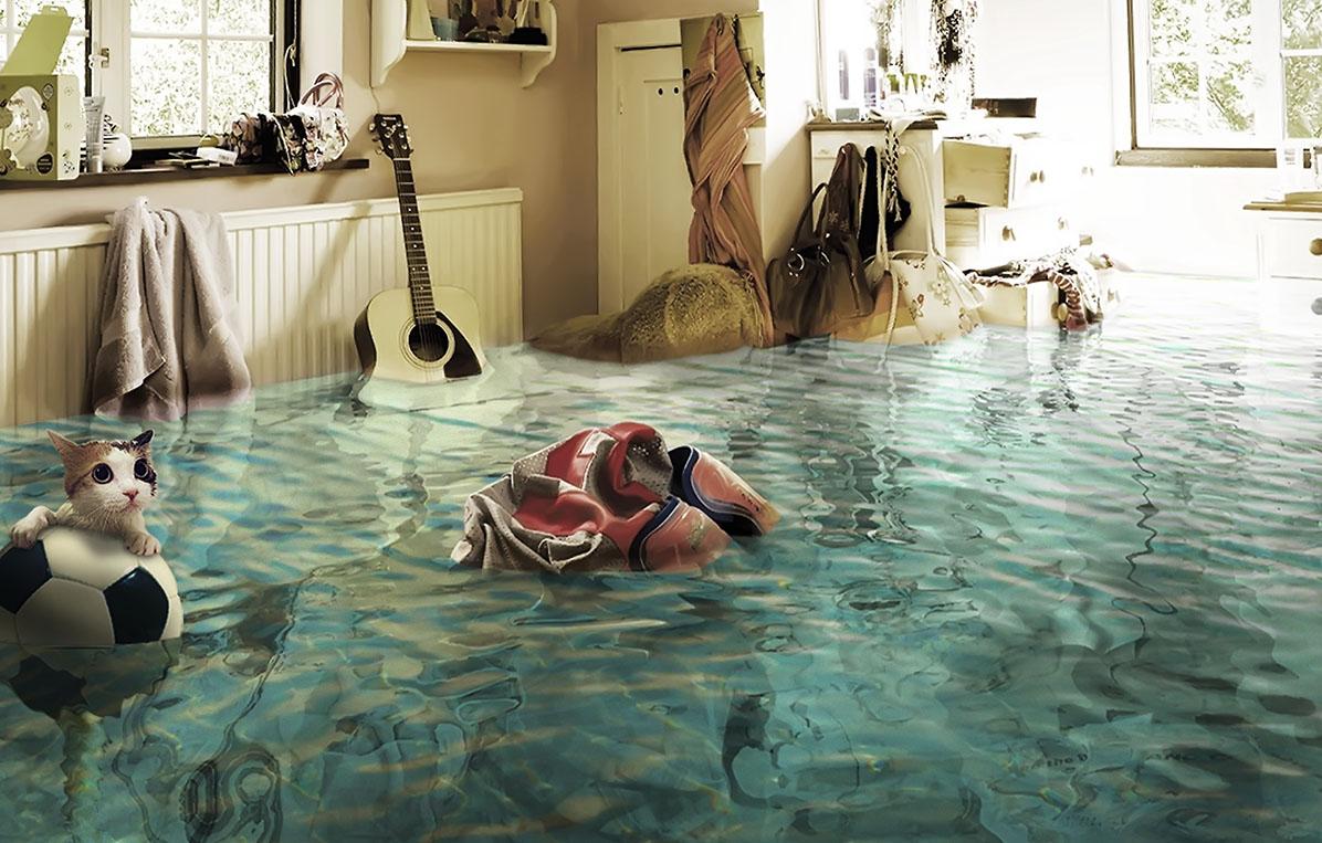 Жильцы Тверской области отсудили у коммунальщиков деньги за потоп в квартире