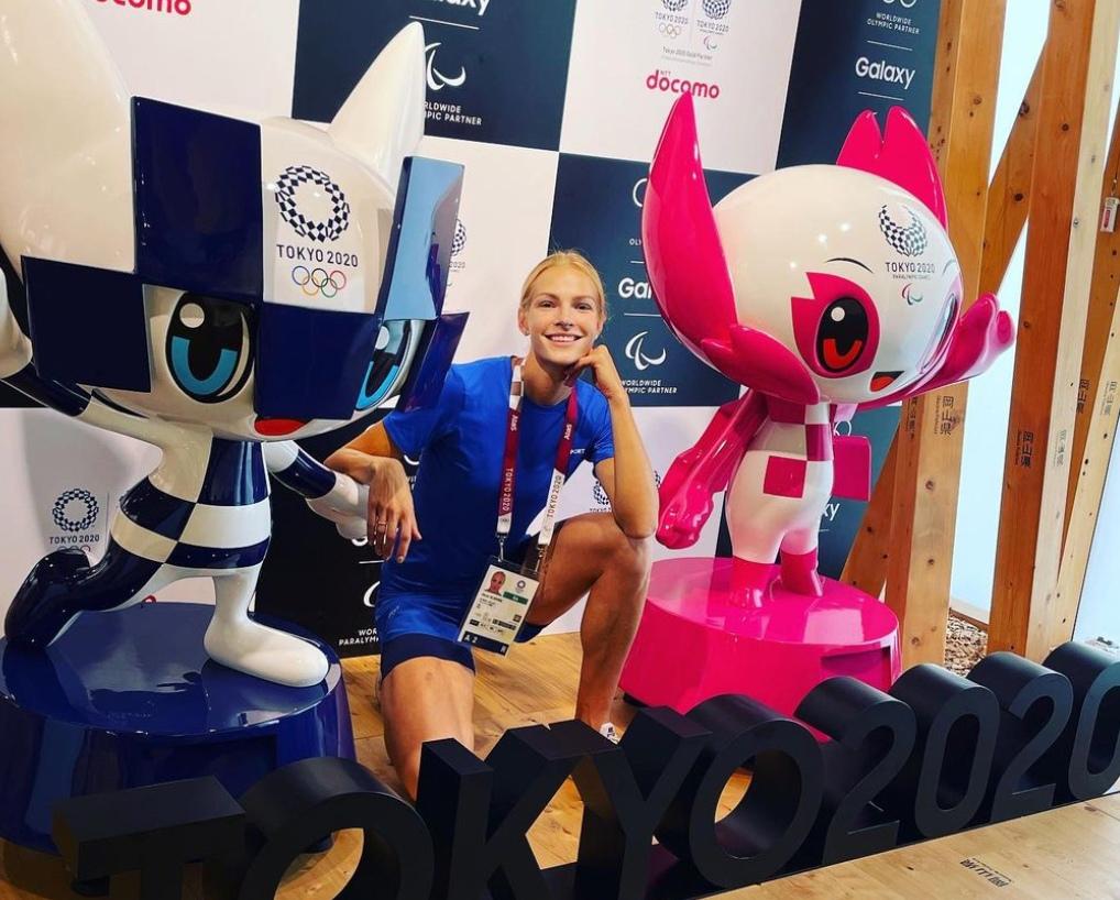 Тверская легкоатлетка Клишина рассказала об олимпийской деревне в Токио