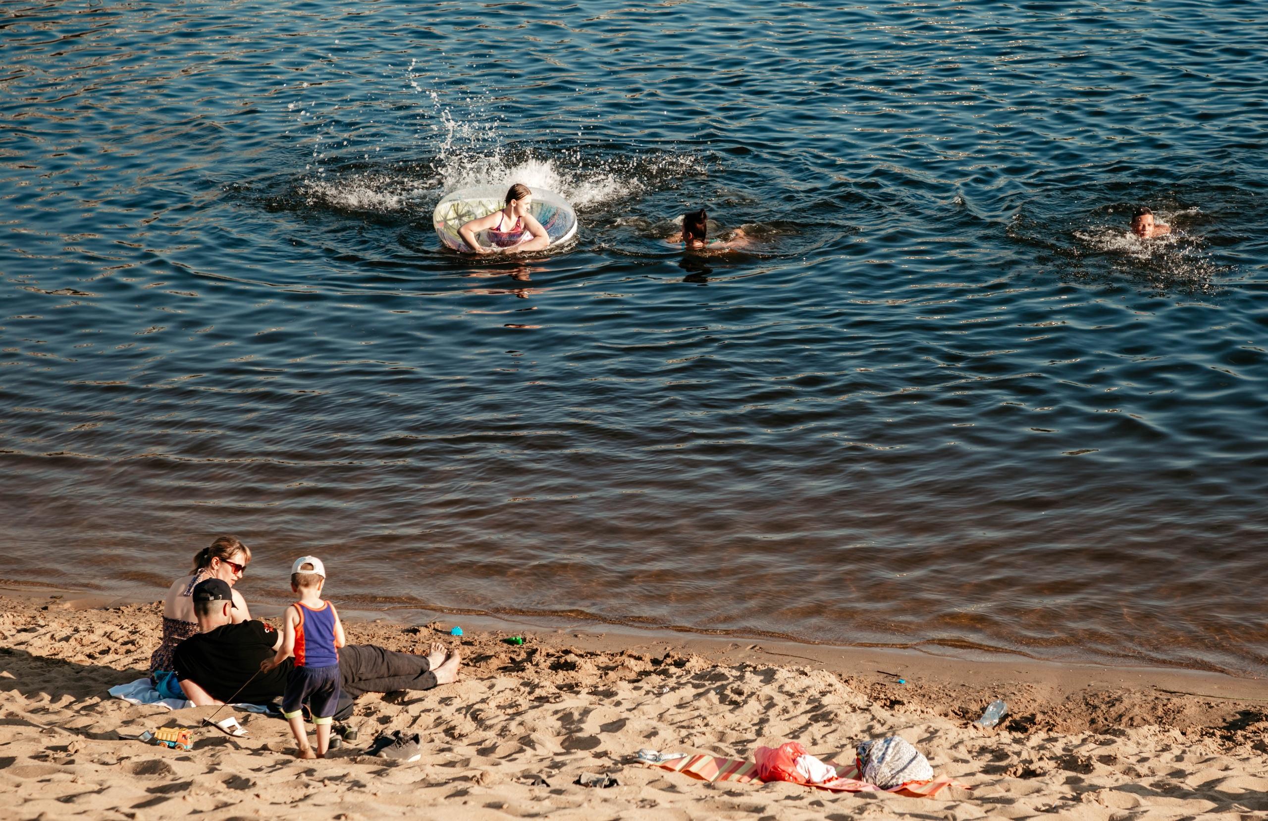 Роспотребнадзор не рекомендует купаться в Твери и ближайших окрестностях