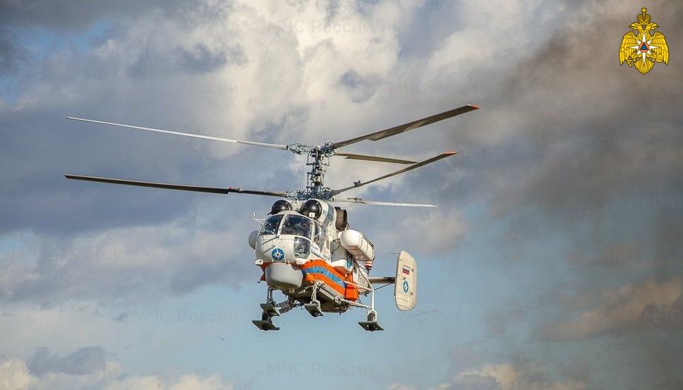 Ночью жителя Тверской области доставили на вертолёте в ОКБ