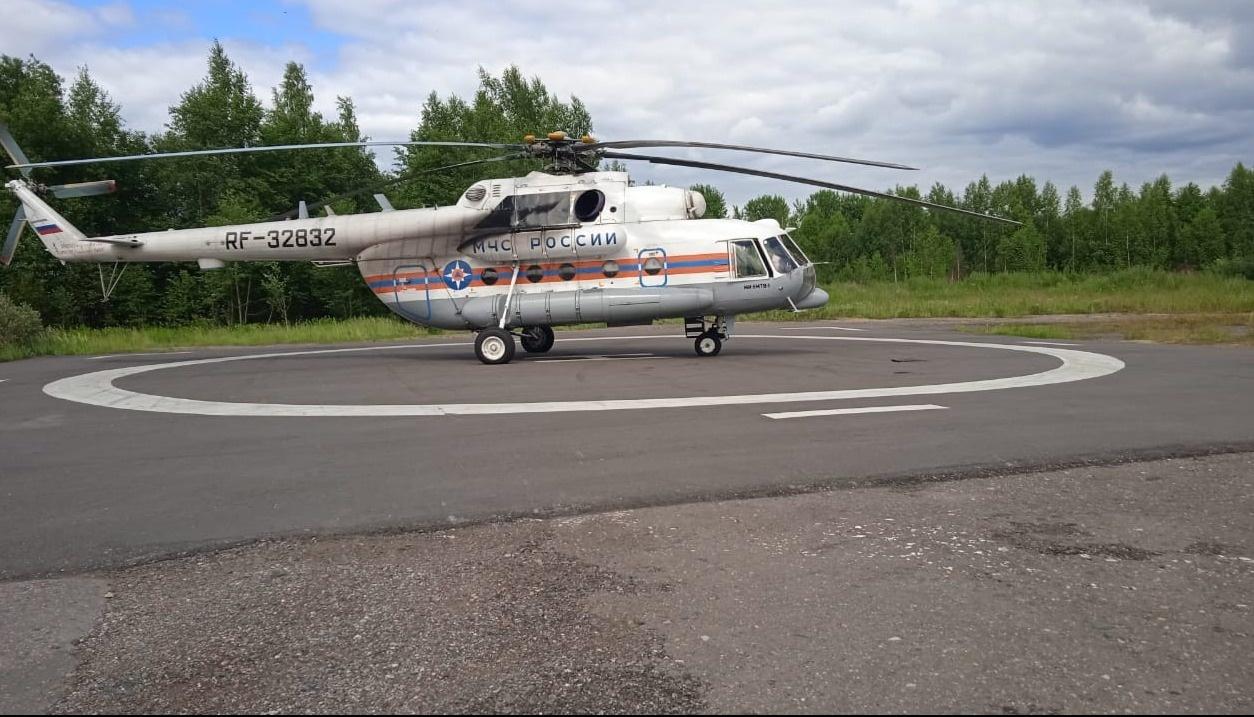 Пациента из Тверской области экстренно доставили на вертолёте в ОКБ