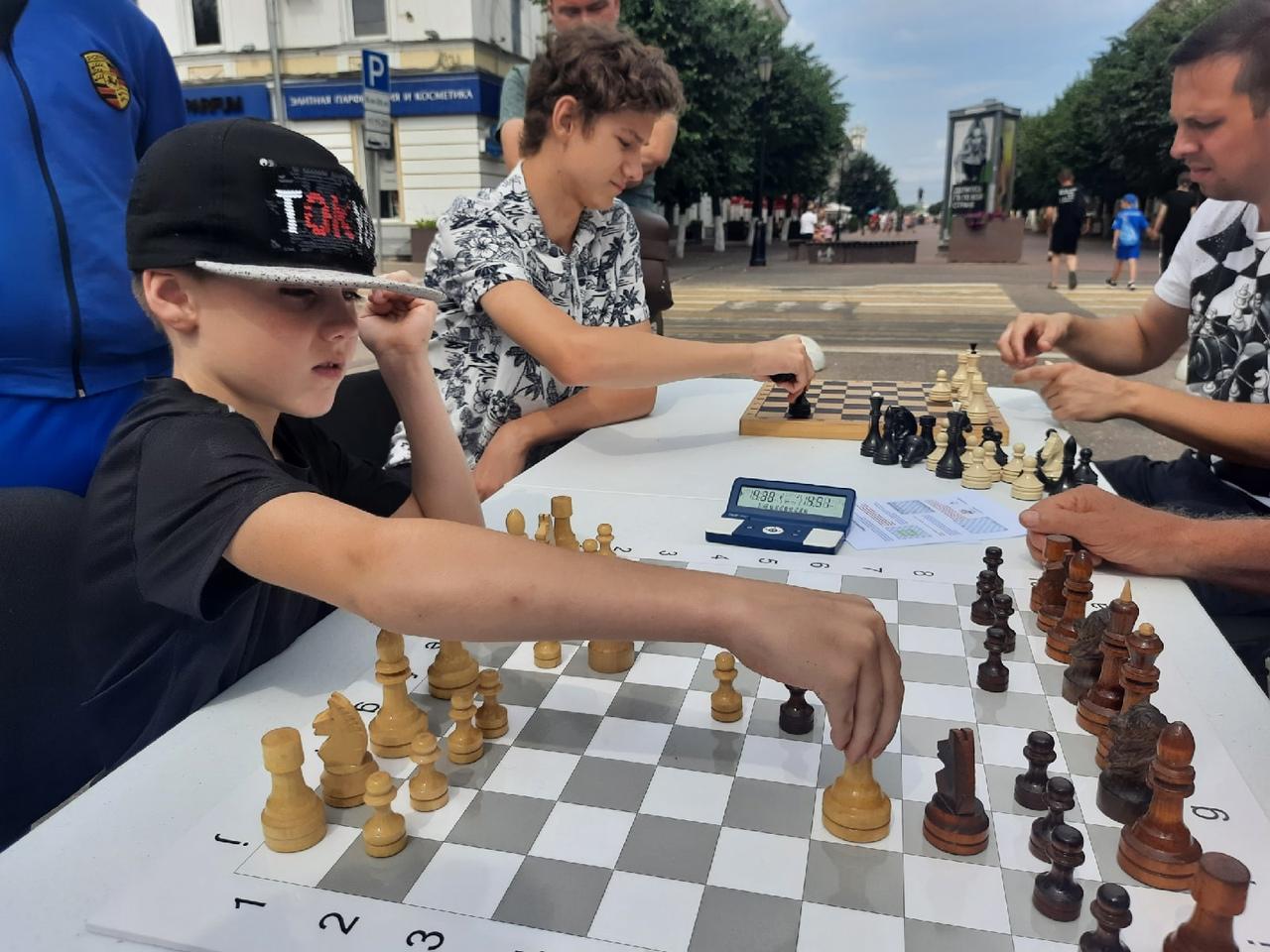 В Твери возрождают игру в медвежьи шахматы