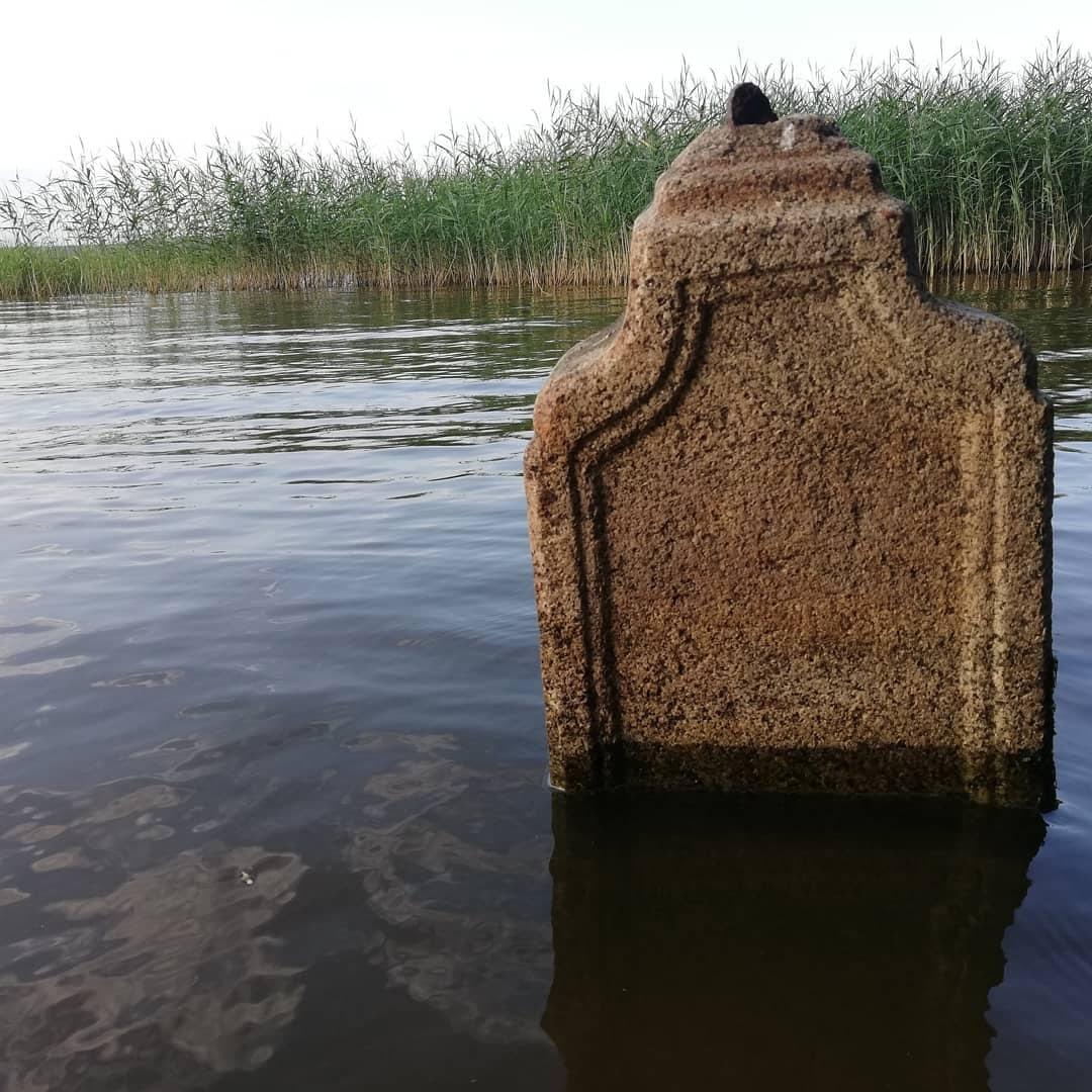 В Тверской области в водохранилище плавают человеческие кости