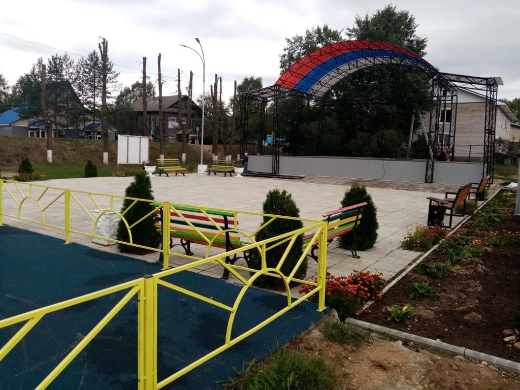В Тверской области на 37 объектах завершены работы по благоустройству