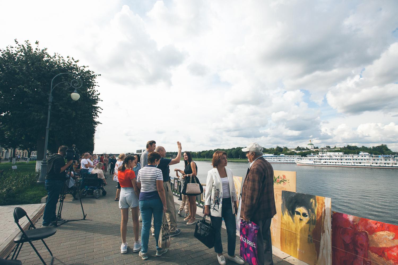 На праздник в Тверь туристы стекались на теплоходах и автобусах