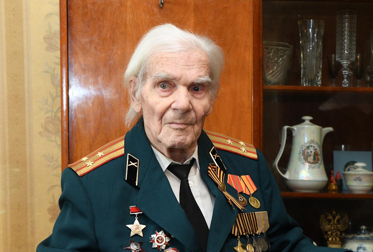 В Тверской области простились с полным кавалером Ордена Славы Иваном Андреевичем Рулёвым