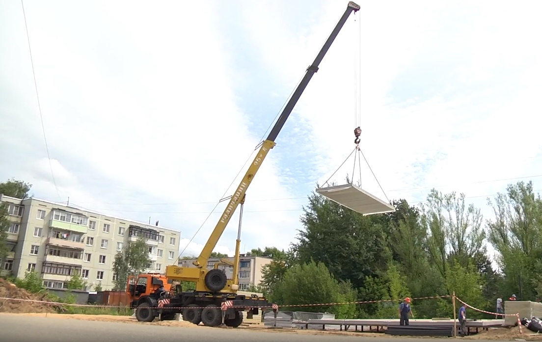 В Вышнем Волочке строится новый филиал МФЦ