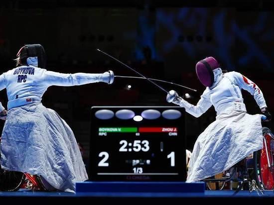 Шпажистка из Тверской области завоевала серебро Паралимпиады в Токио