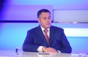 Ураган, санавиация, цены: Игорь Руденя ответил на вопросы жителей Тверской области