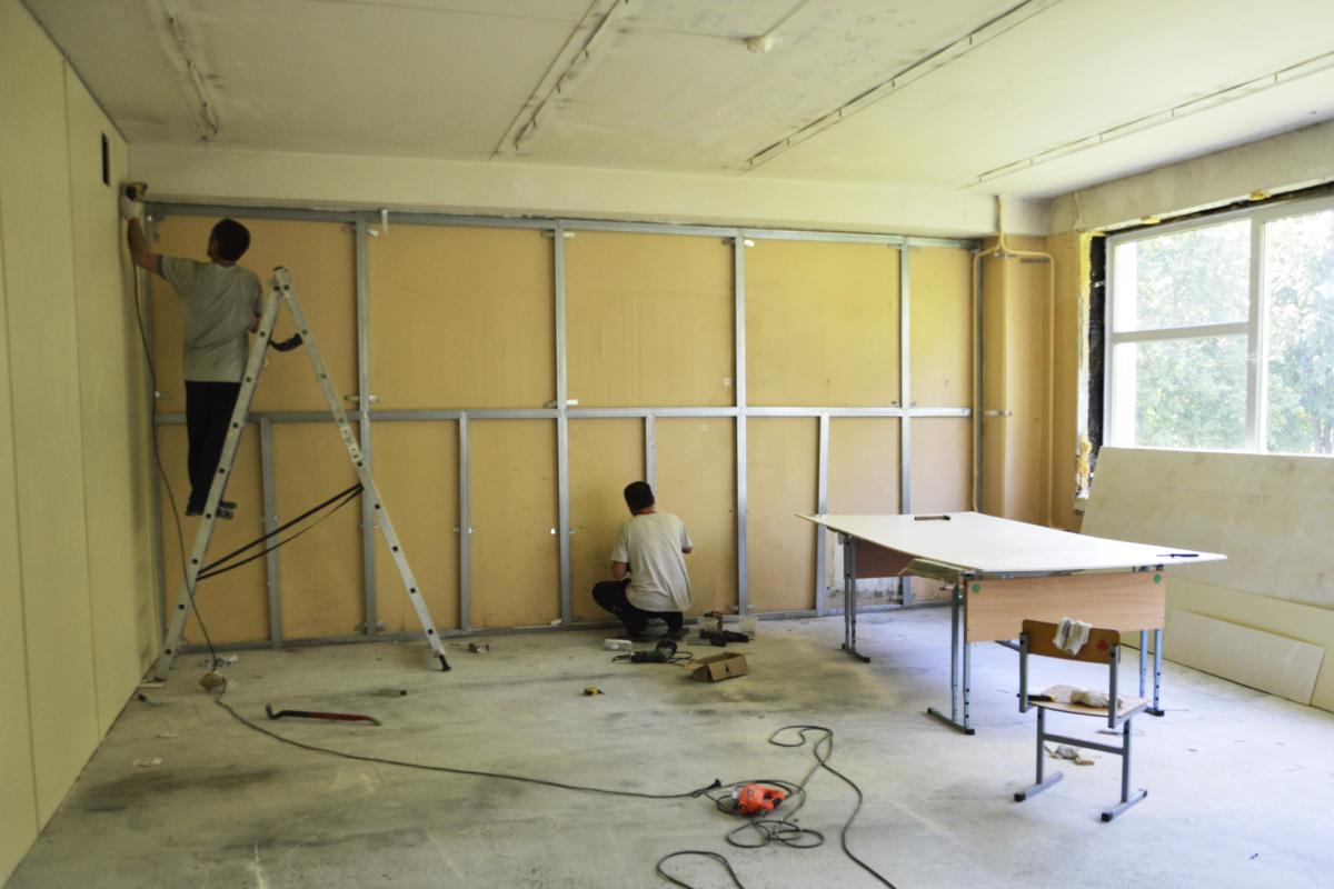 В Тверской области за три года отремонтировали 365 школ и детских садов