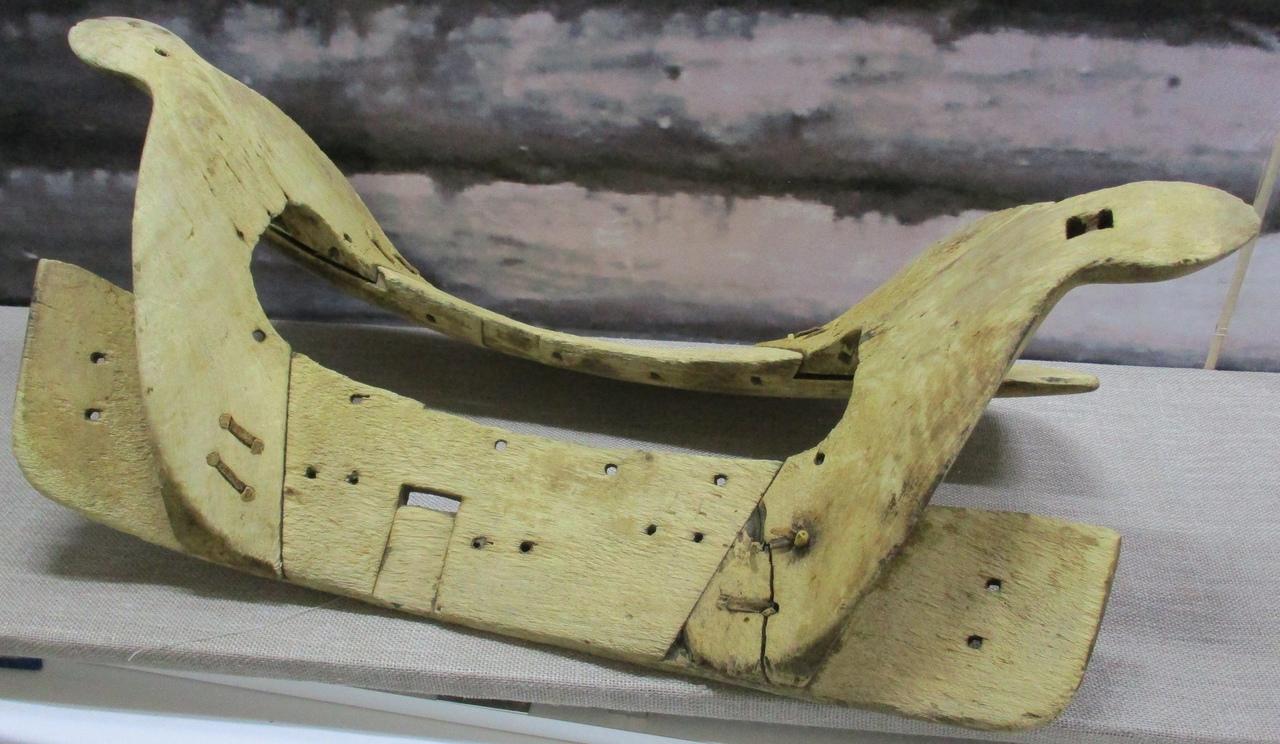 В Андреапольский музей принесли уникальный экспонат – вековой арчак