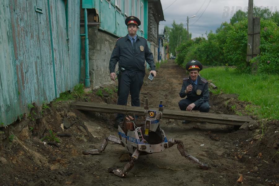 Робопёс помог раскрыть преступление в Тверской области