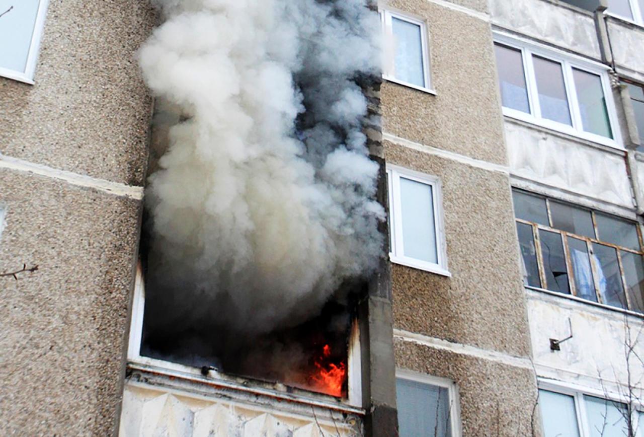 В результате пожара погиб житель Тверской области