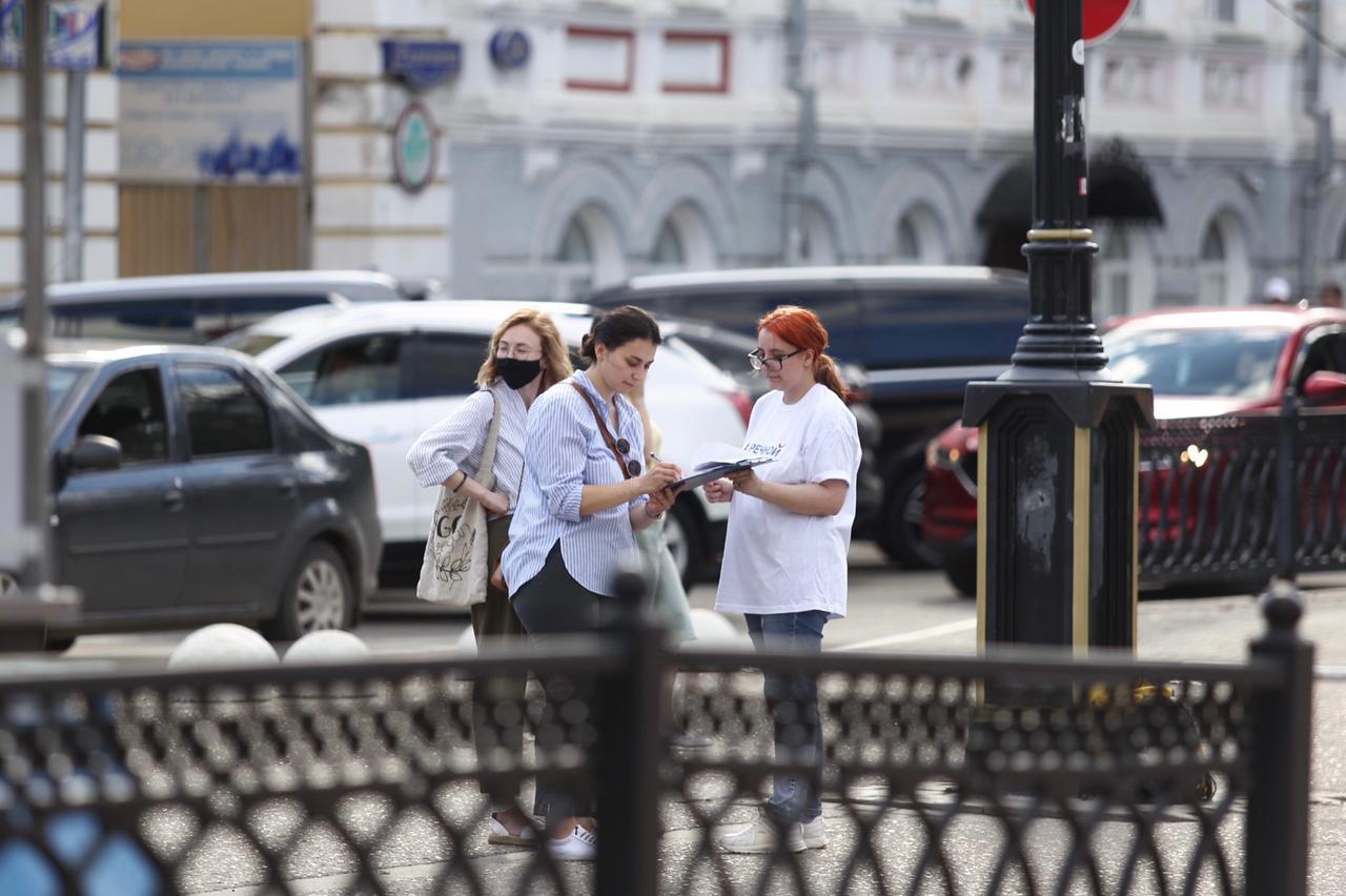 В Твери работают 29 точек сбора подписей за восстановление Речного вокзала