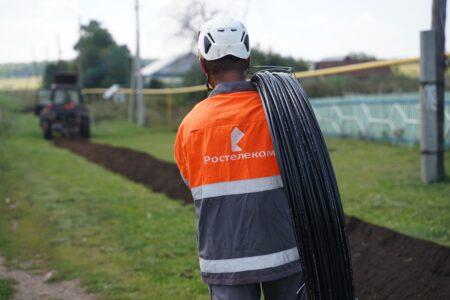 «Ростелеком» завершил переустройство сетей связи вдоль Бежецкого шоссе в Твери