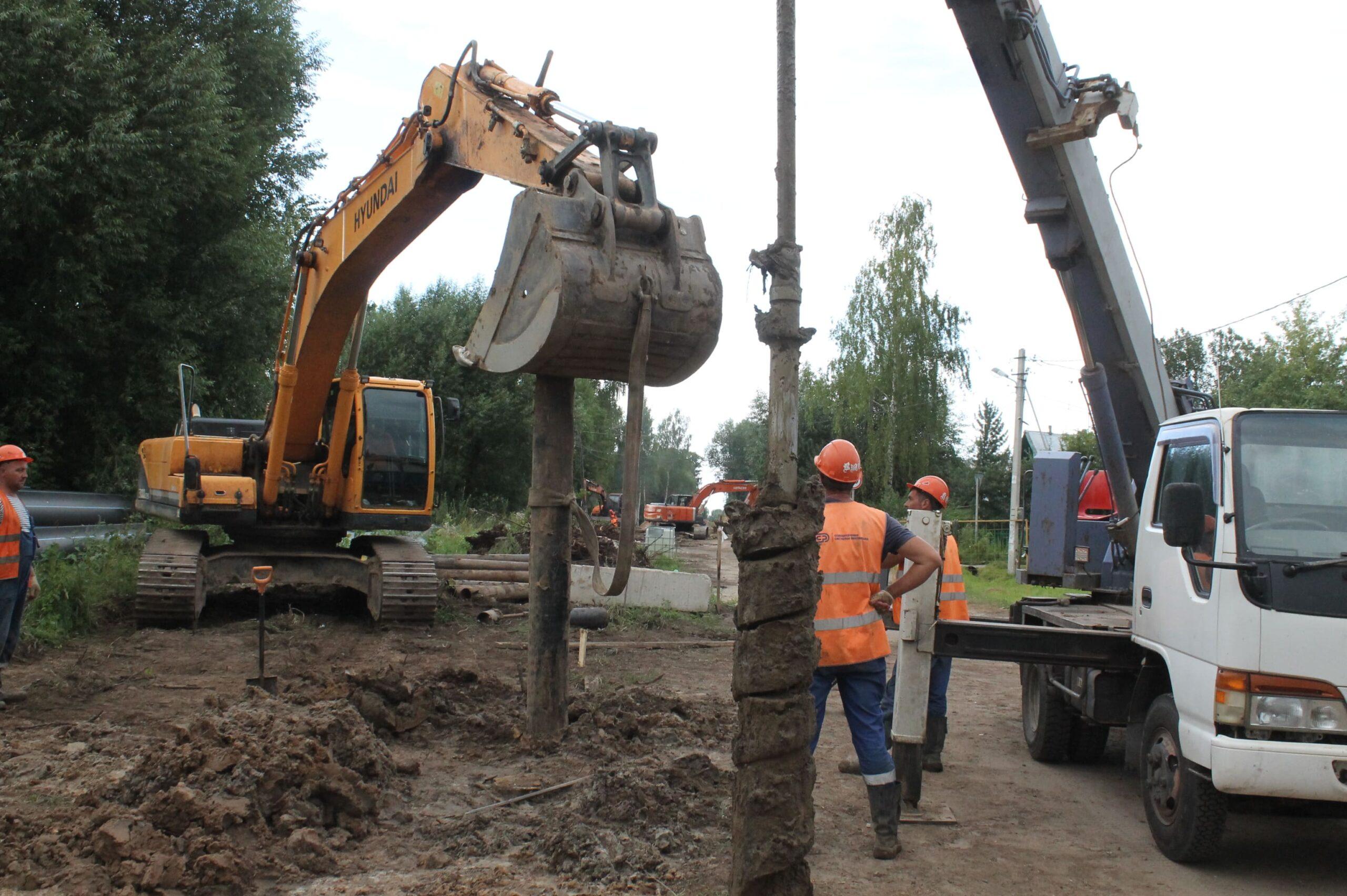 В Твери запускают 2-километровую нитку водовода: фото