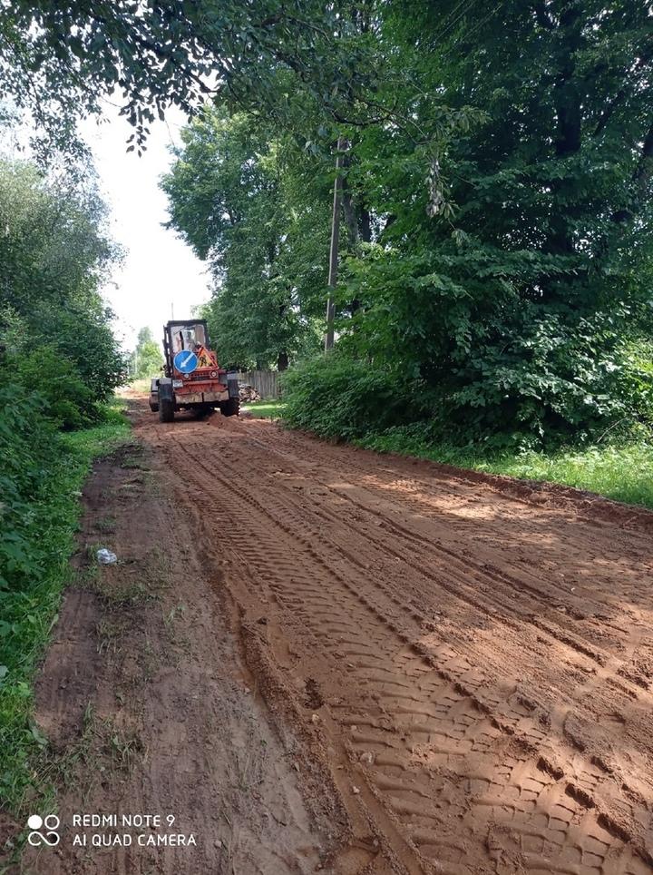 В Оленино устранят замечания по ремонту дорог за 10 дней