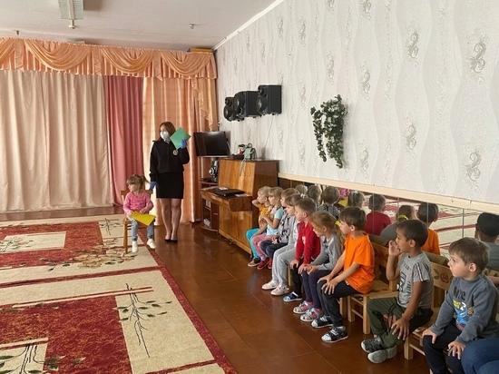 Нелидовские автоинспекторы посетили оленинский детсад