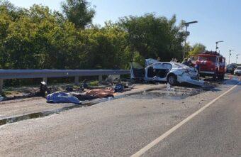 Четверо спортсменов погибли в страшной аварии, возвращаясь из Твери