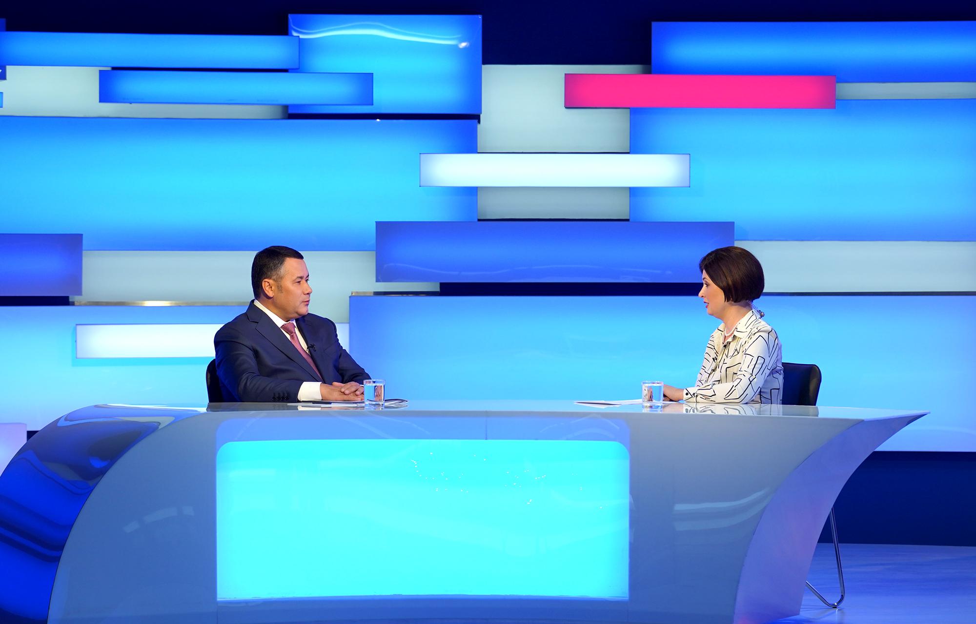 Занятость, переселение, ЗАГС: губернатор ответит на вопросы жителей Тверской области