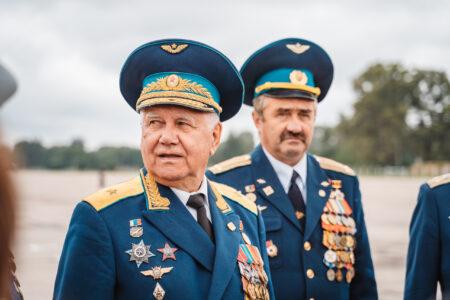 Ветеранов ВВС России награждали под Тверью: фоторепортаж
