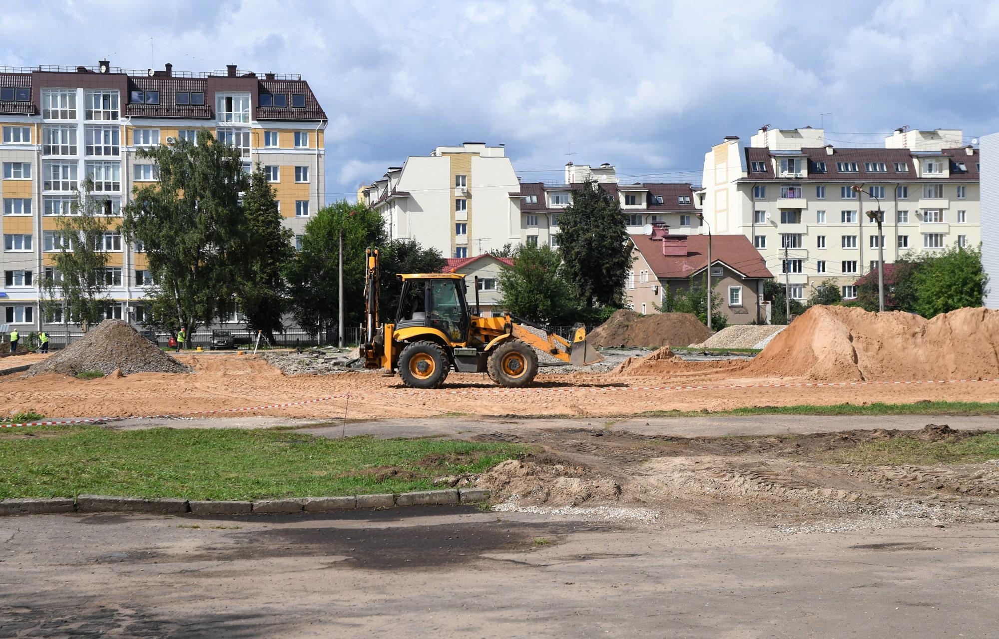 10 новых школьных стадионов построят в Тверской области в этом году