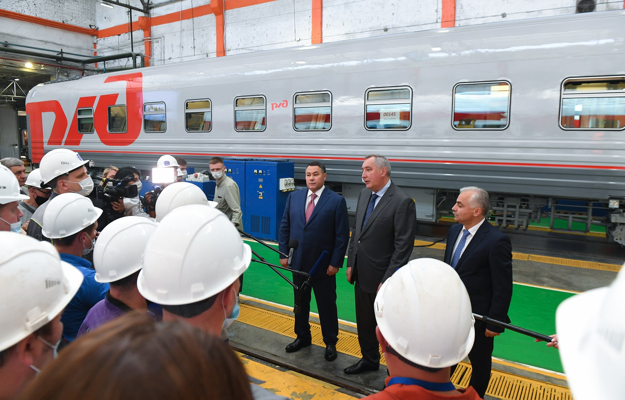 Тверская область и «Роскосмос» продолжат сотрудничество по ряду новых проектов