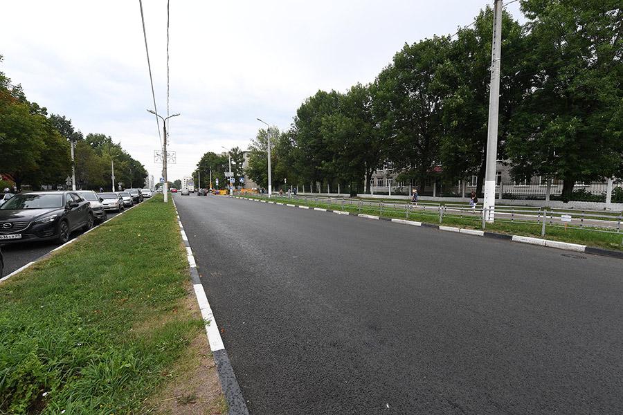 Больше 30 километров дорог отремонтировали в Твери в 2021 году