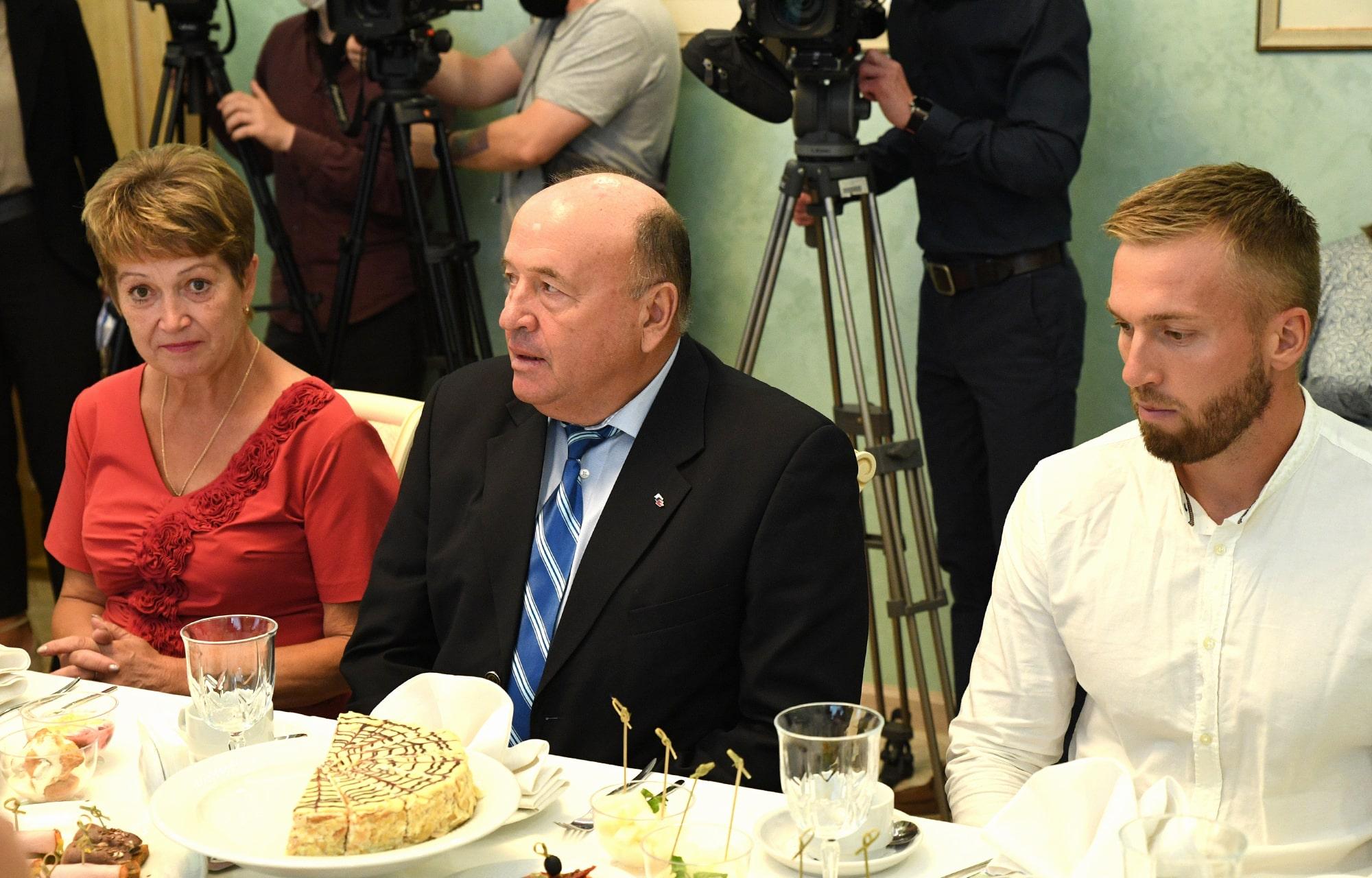 Игорь Руденя провел встречу с тверскими спортсменами-олимпийцами