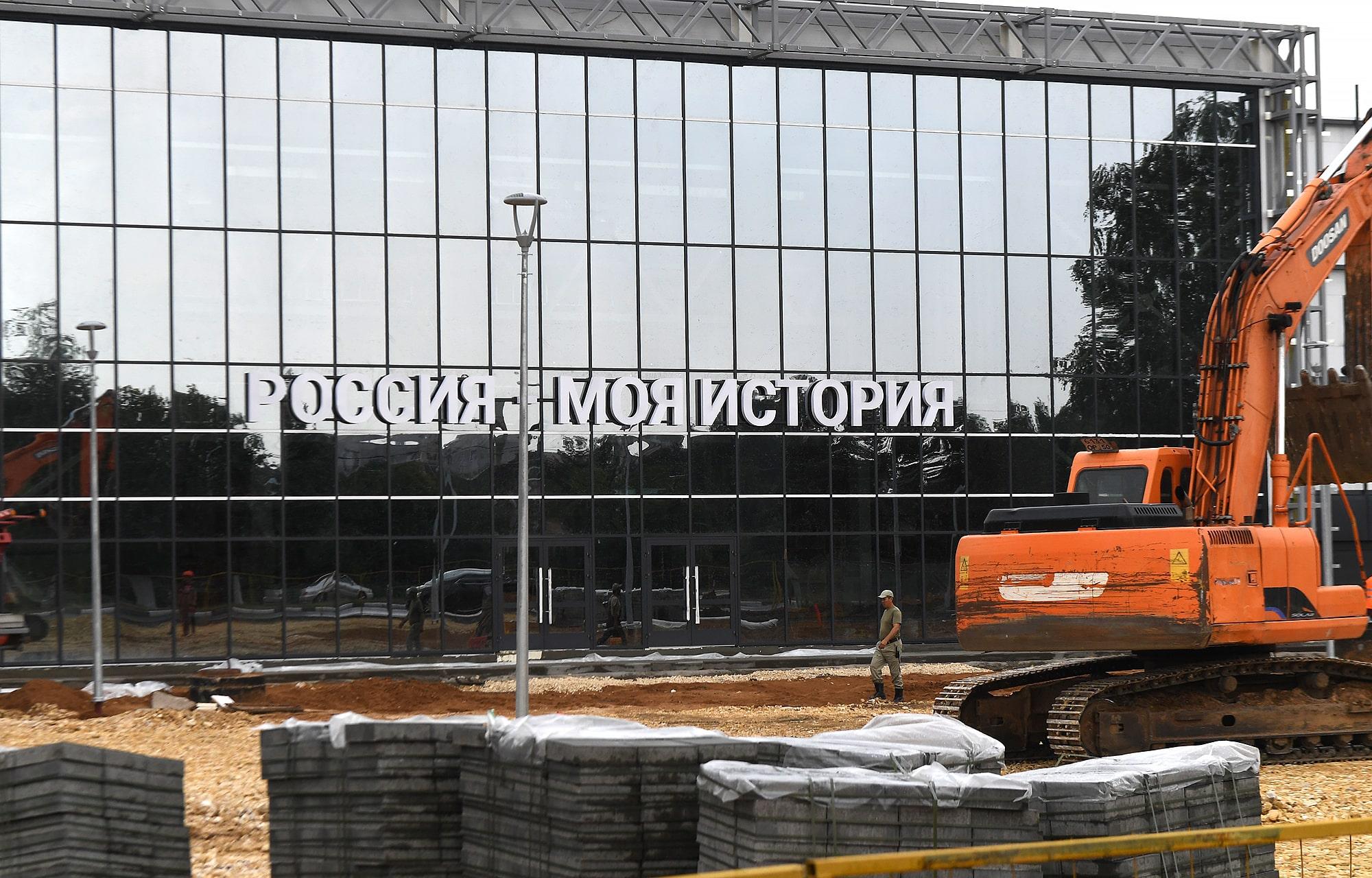 В Твери ведется обустройство здания мультимедийного парка «Россия – Моя история»