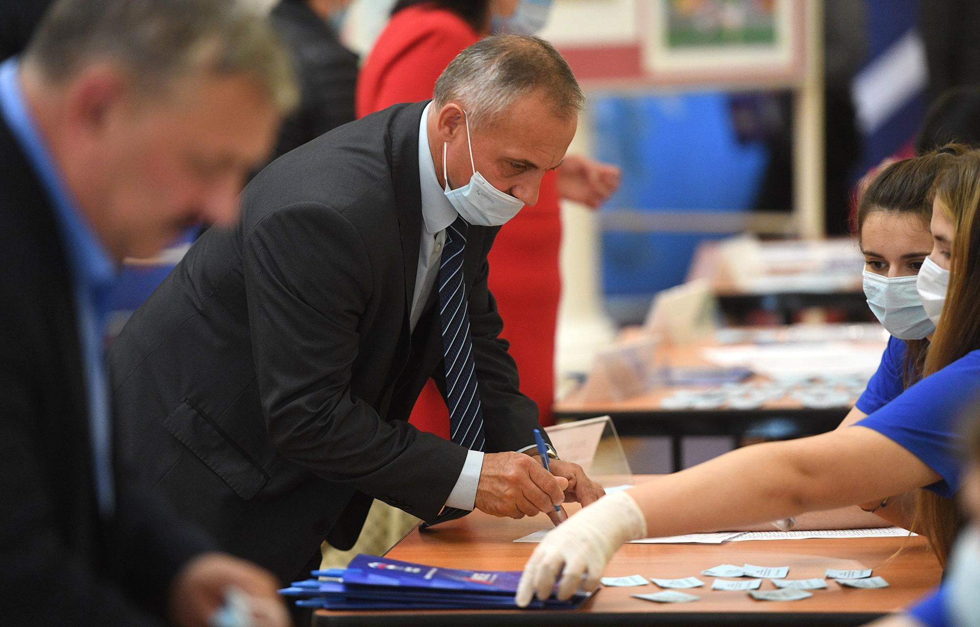 Губернатор Игорь Руденя принял участие в третьем этапе конференции Тверского регионального отделения партии «Единая Россия»